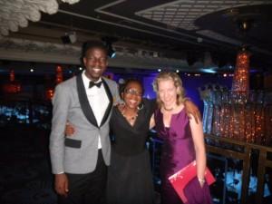 Leadership guru Tesse Akpeki at Charity Awards