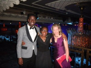 Leadership guru Tesse Akpeki at Charity Awards